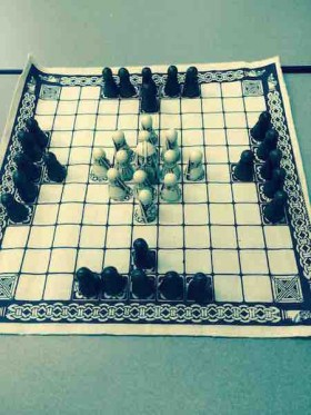 Hnefatafl gameplay